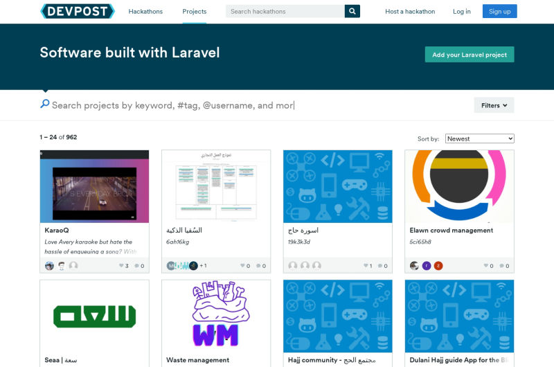 Another Directory Of Laravel Applications
