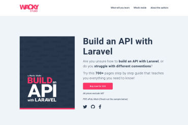 Build An API With Laravel