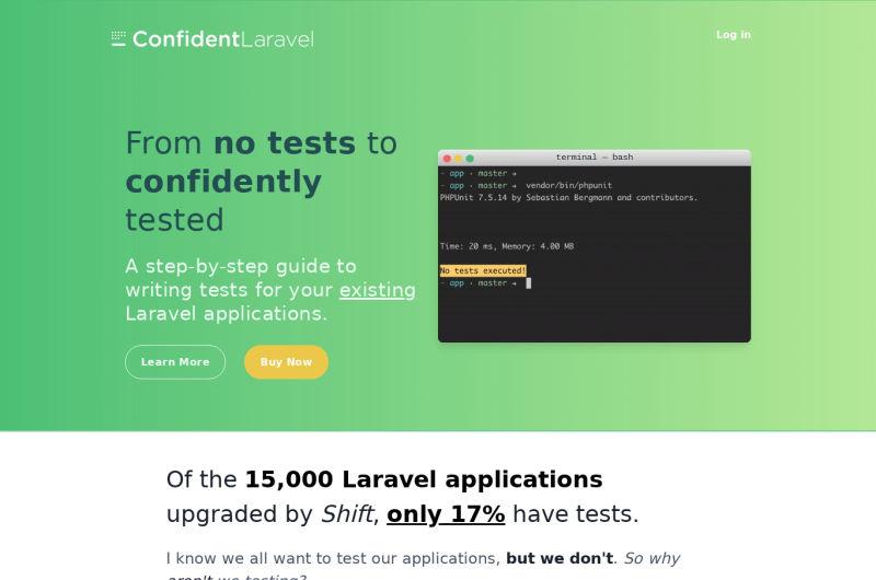 ConfidentLaravel