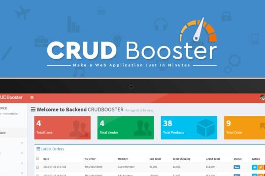 CRUD Booster