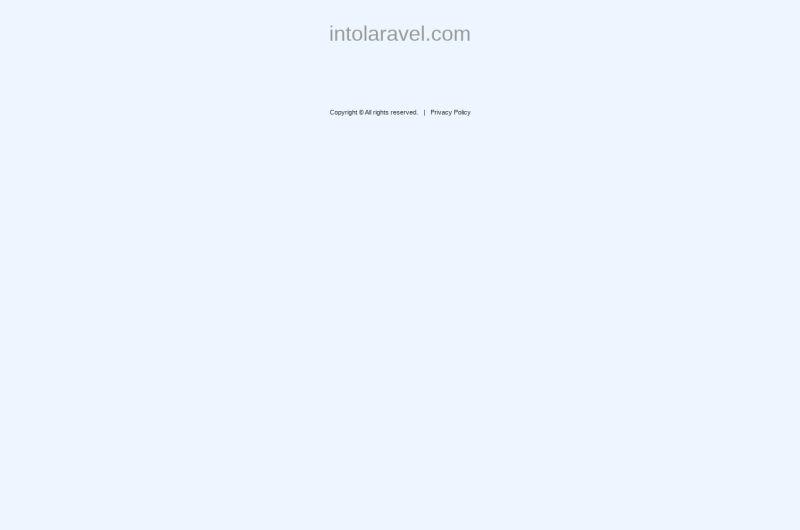 IntoLaravel.com