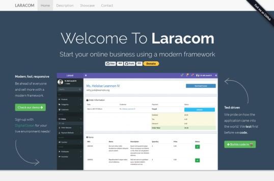 Laracom