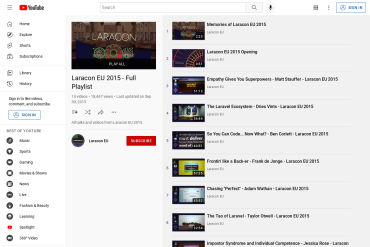 Laracon EU 2015