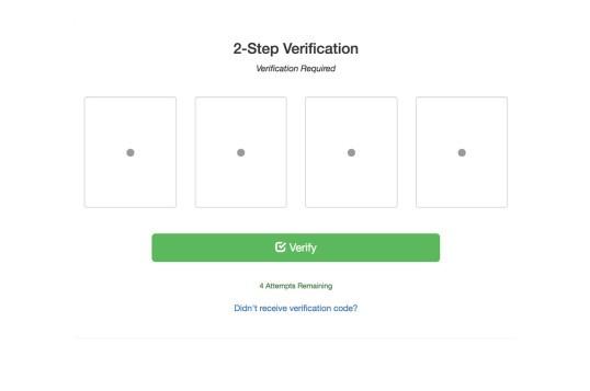 Laravel 2 Step Verification
