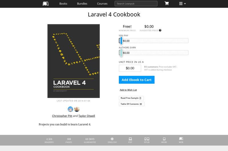 Laravel 4 Cookbook