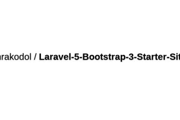 Laravel 5 Bootstrap 3 Starter Site
