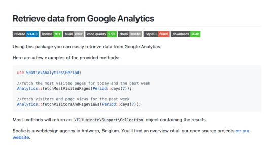 Laravel Analytics