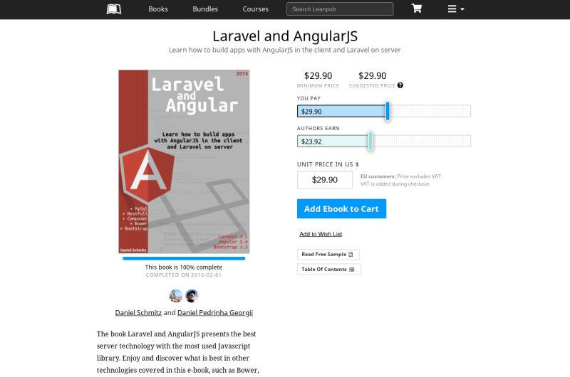 Laravel And AngularJS