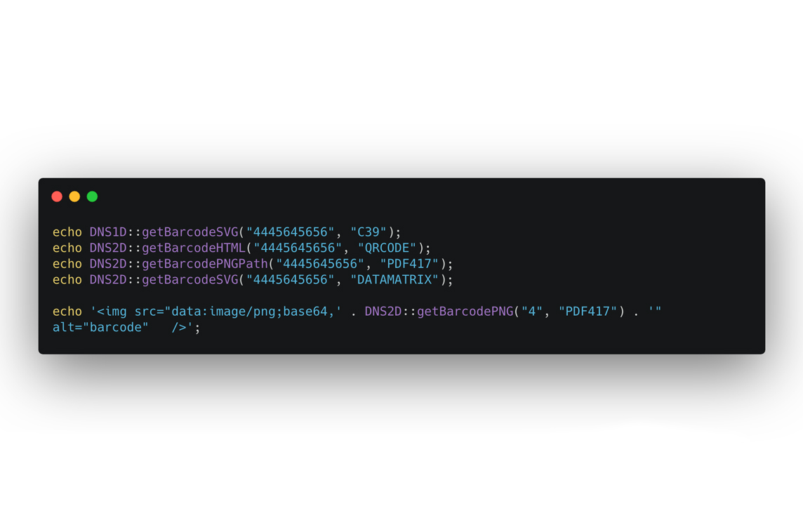 Laravel Barcode