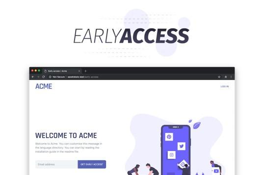 Laravel Early Access