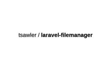 Laravel File Manager