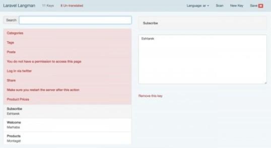 Laravel Language Manager