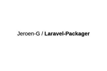 Laravel Packager