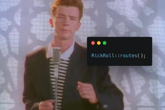Laravel RickRoll
