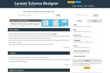 Laravel Schema Designer