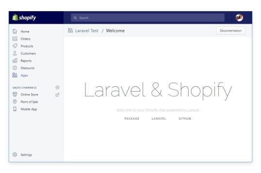 Laravel Shopify