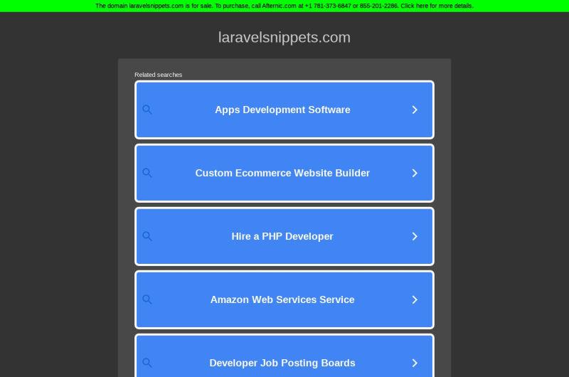LaravelSnippets.com