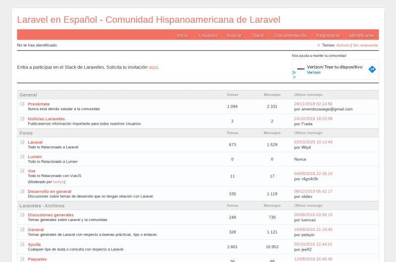Laravel Spanish