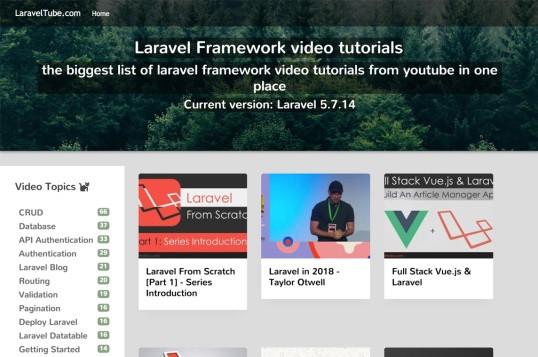 LaravelTube
