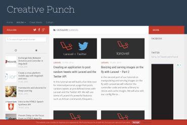 Laravel Tutorials On Creative Punch