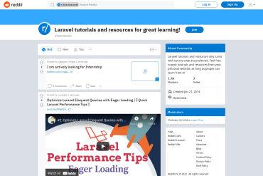 Learn Laravel Reddit