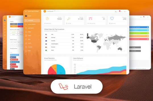 Light Bootstrap Dashboard PRO Laravel