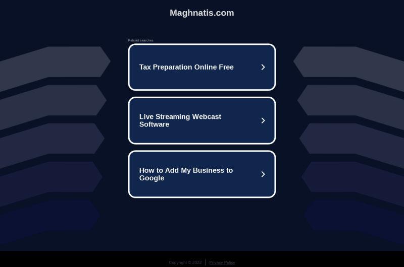 Maghnatis