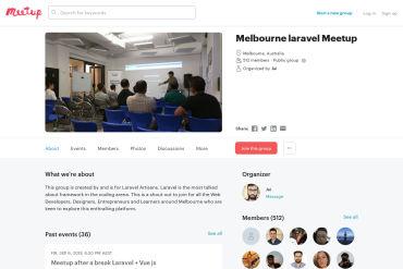 Melbourne Meetup