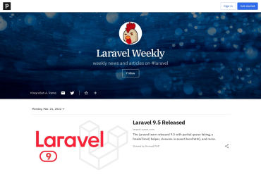 Paper.li Laravel Weekly