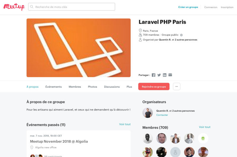 Paris Meetup