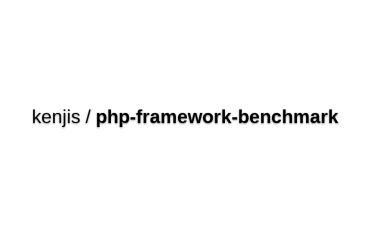 PHP Framework Benchmarks
