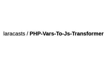 PHP Vars To JavaScript Transformer