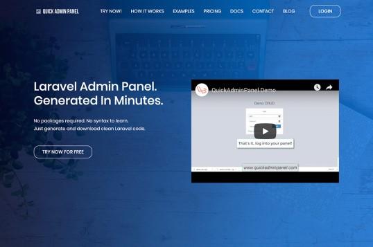 Quick Admin Panel