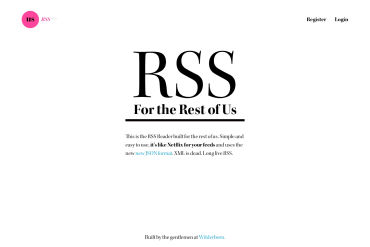 RSS For The Rest Of Us