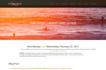 San Diego Laravel User Group (SDLUG)