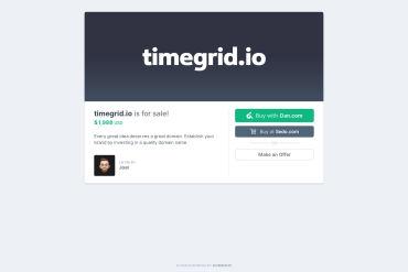 TimeGrid.io