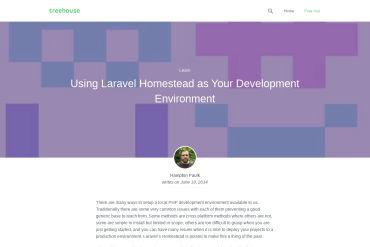 Using Laravel Homestead As Your Development Environment