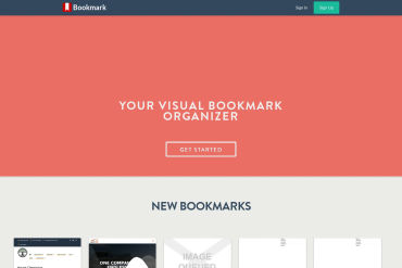 Visual Bookmark Organizer