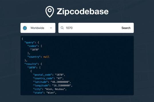 Zipcodebase.com
