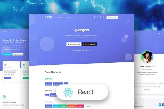 Argon Design System React
