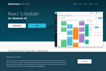 DevExtreme React Scheduler