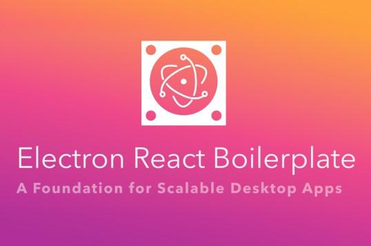 Electron React Boilerplate