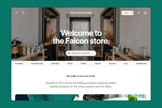 Falcon PWA Storefront