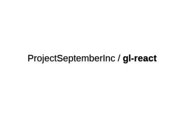 Gl-react