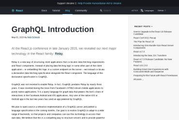 GraphQL Introduction