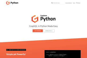 Graphene - GraphQL In **Python** Made Simple