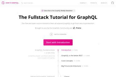 How To Graphql - The Fullstack Tutorial For GraphQL