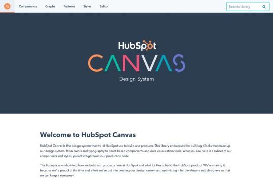 HubSpot Canvas