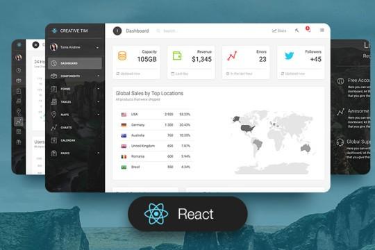 Light Bootstrap Dashboard PRO React