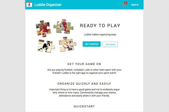 Luddie Organizer
